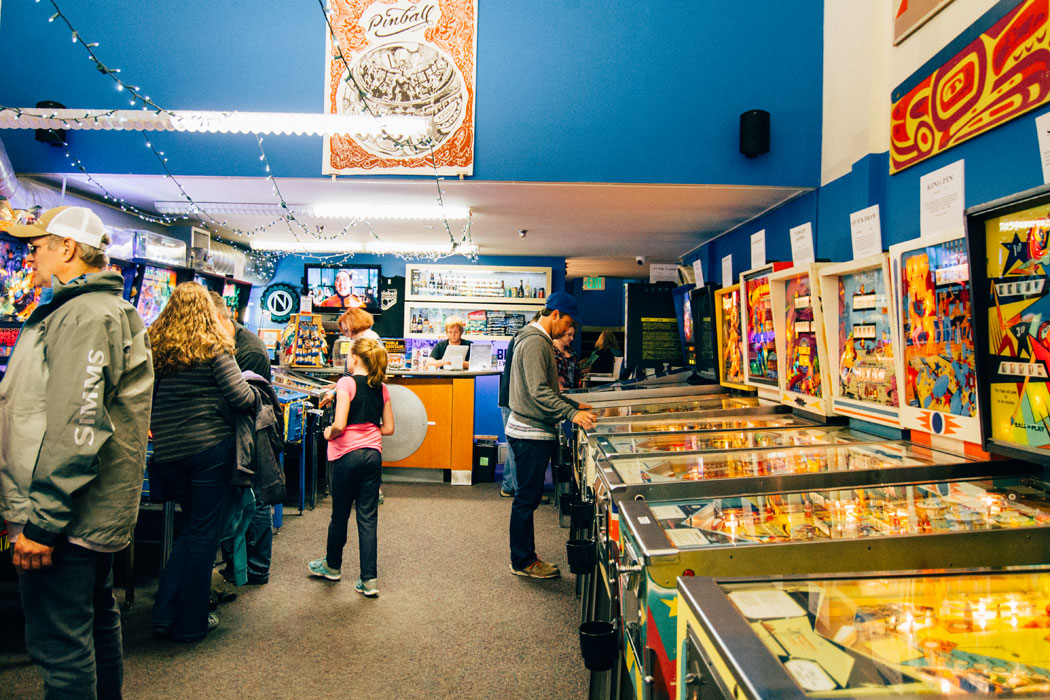Inside the Seattle Pinball Museum